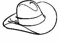 Image of a cowboy hat.